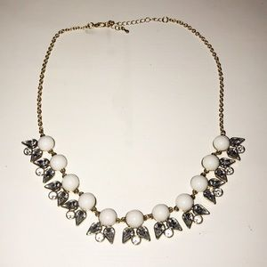 NWOT Angel Wings Statement Necklace